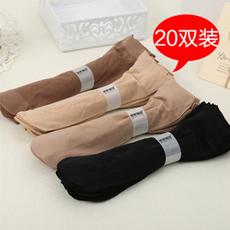 包芯丝天鹅绒短袜 20双