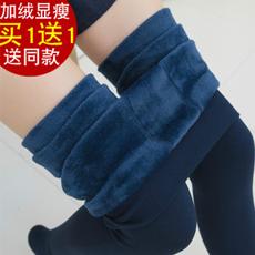 买一送一加绒加厚打底裤