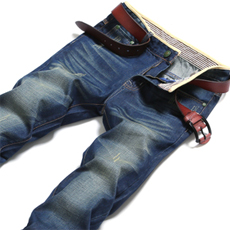 秋冬新款青少年男士牛仔裤