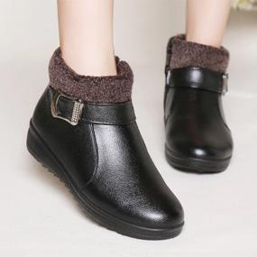 冬季新款中老年棉鞋