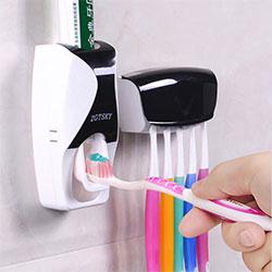 牙刷架套装吸壁式牙刷杯架子