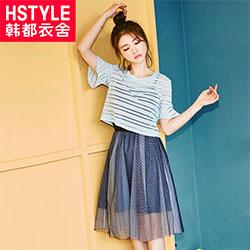 韩都衣舍 2017韩版女装夏季新款