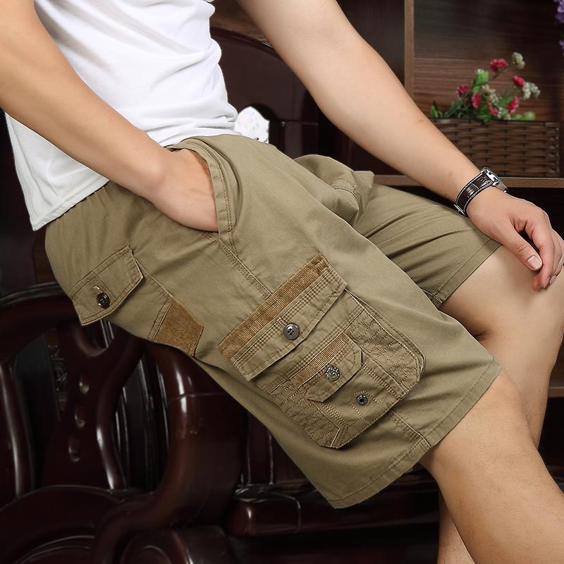 夏季大码中年男士中裤