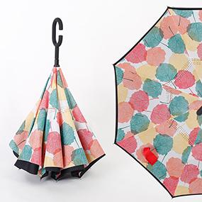 新款车用反向伞免持式创意伞