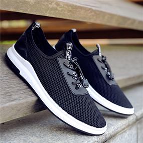 网鞋男士夏季土透气网面鞋薄款