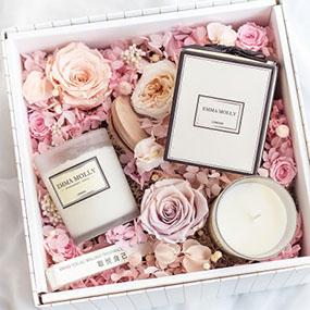 进口精油香薰蜡烛礼盒