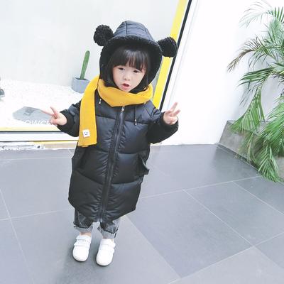 儿童宝宝冬装手塞棉服