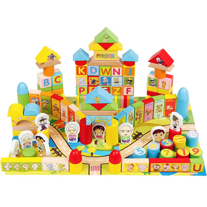 丹妮奇特儿童积木玩具