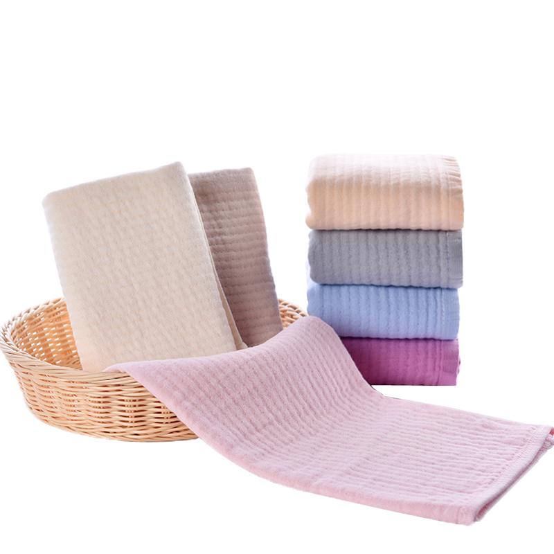 全棉擦手毛巾纱布纯棉双面洗脸帕子