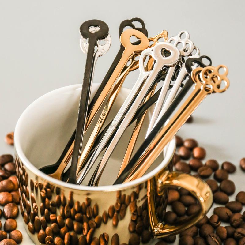 舍里 简约不锈钢咖啡搅拌勺