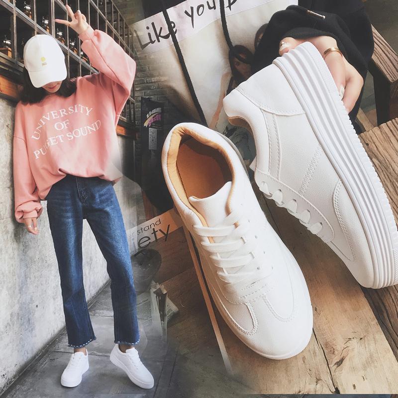 小白鞋女春季