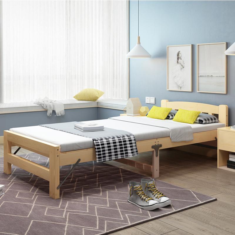 折叠床单人床成人家用简易床