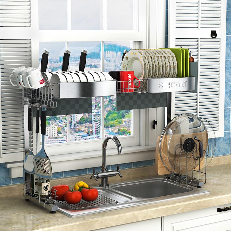 诗诺雅 304不锈钢厨房置物架