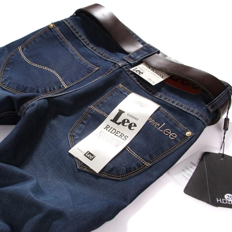 黑色牛仔裤男士新款春季裤子