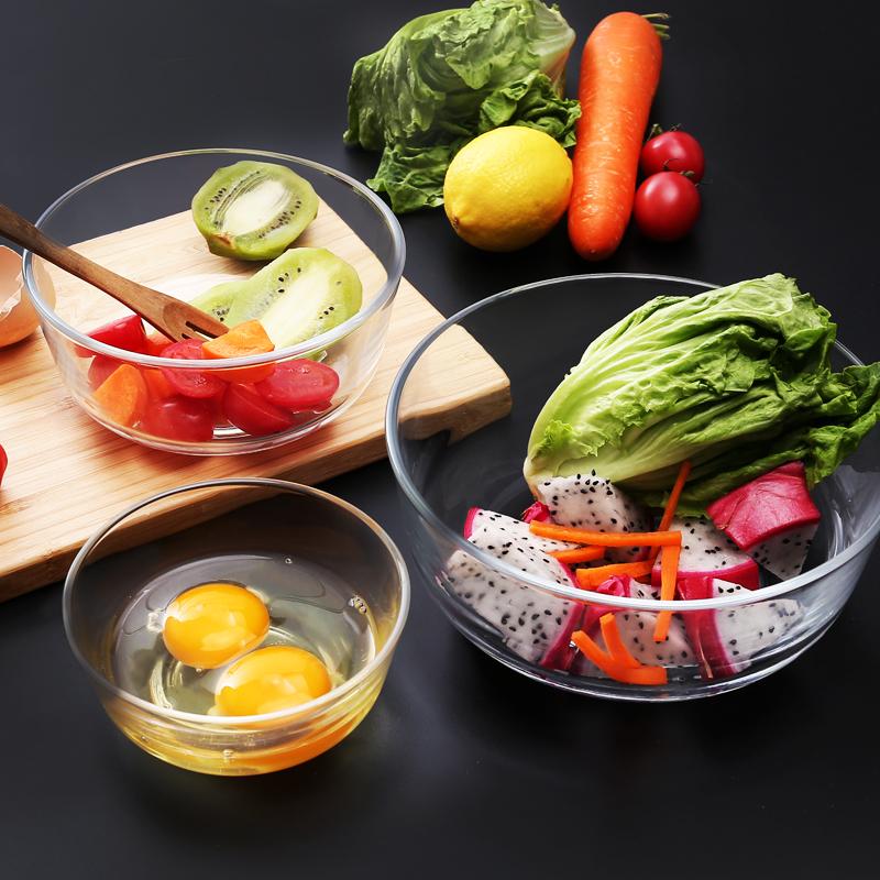 厨房透明玻璃碗家用面碗