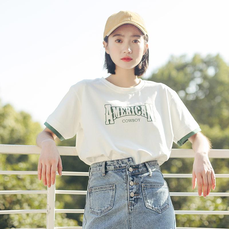 白色短袖t恤女装