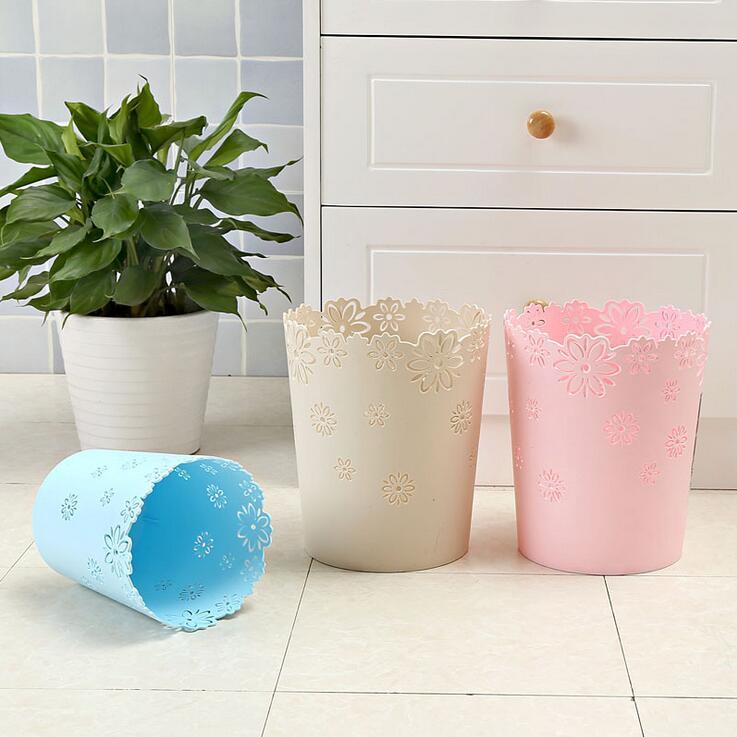 欧式家用塑料垃圾桶