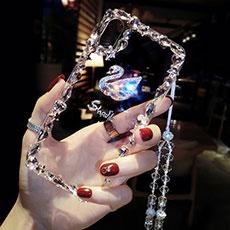 新款苹果X手机壳带挂绳iPhone7plus个性创意